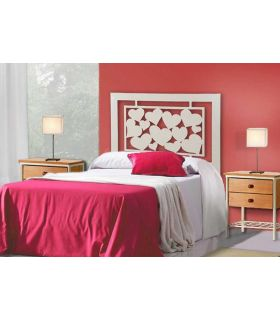 Acheter en ligne Têtes de lit pour enfants: modèle COEURS.