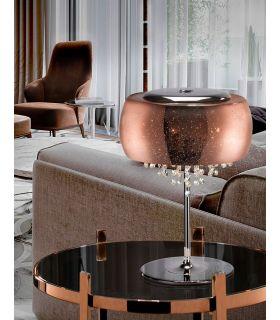 Acheter en ligne LAMPE TABLE·CAELUM·CUIVRE 3 G9