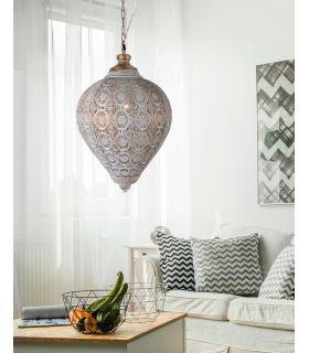 Acheter en ligne LAMPE 1L ·TEBAS· Ø33 DORADA