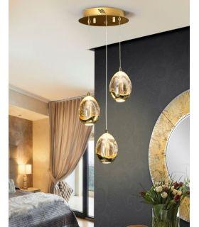 Acheter en ligne LAMPE Ø25 ·TOULOUSE· 3LED OR