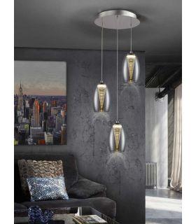 Acheter en ligne LAMPE·NEBULA· 3L LED CHROME