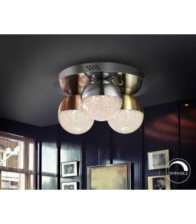 Acheter en ligne PLAF.3L LED·SPHÈRE·COULEUR Ø30