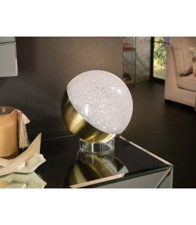 Acheter en ligne LAMPE TABLE ·SPHÈRE·Ø20 LAITON