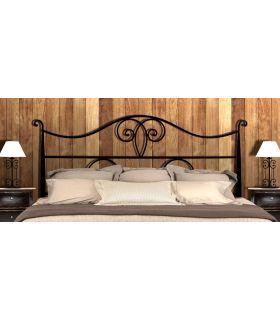 Acheter en ligne Têtes de lit en fer forgé: modèle NAPOLES.