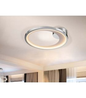 Acheter en ligne PLAFONNIER LED·LARIS·43ØCHROME