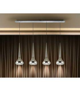 Acheter en ligne LAMPE 4L ·AXEL· CHROME