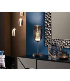 Acheter en ligne LAMPE TABLE ·NEBULA·1L CHROME