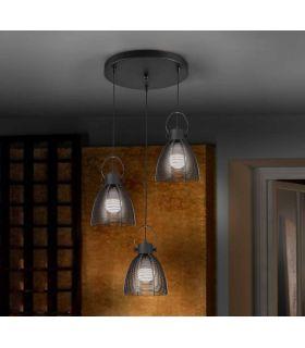 Acheter en ligne LAMPE 3L·TABATHA·NOIR Ø35