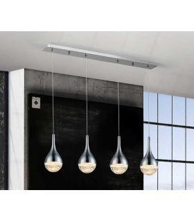 Acheter en ligne LAMPE 4L·ELIE·CHROME