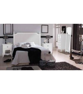 Acheter en ligne Têtes de lit en Bois: Collection PRAGA RYS Grille