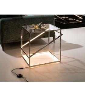 Acheter en ligne TABLE NUIT ·MOONLIGHT·INOX.LED