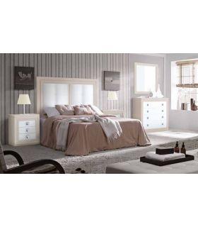 Acheter en ligne Têtes de lit en Bois Rembourrées: Collection BURDEOS RYS