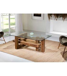 Acheter en ligne TABLE BASSE ·ALBINA· 140x70