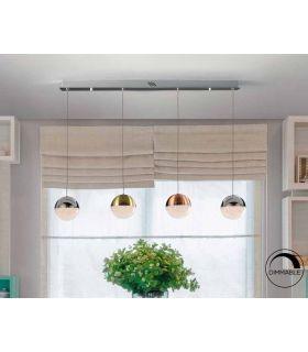Acheter en ligne LAMPE 4L LED ·SPHÈRE· COULEUR.DIMMABLE