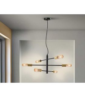 Acheter en ligne LAMPE 6L·SOHO· NOIR/OR