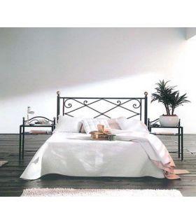 Acheter en ligne Têtes de lit en fer forgé: modèle JULIA.
