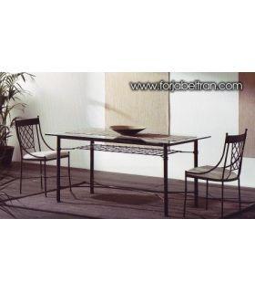 Acheter en ligne Tables en fer forgé: modèle MARSEILLE.
