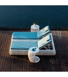 Acheter en ligne Double lit de soleil pour l'extérieur : Collection DYNASTY