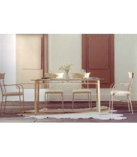 Acheter en ligne Tables en fer forgé: modèle FLORENCE.