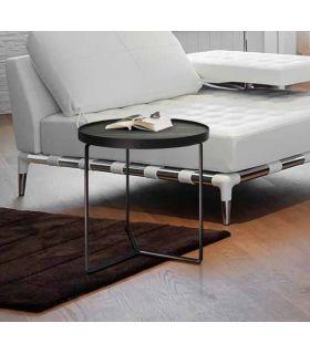 Acheter en ligne TABLE BASSE·PAOLA· Ø50 NOIR