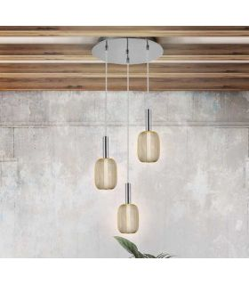 Acheter en ligne LAMPE 3L ·MICRON· CHROME/OR