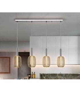 Acheter en ligne LAMPE 4L ·MICRON· CHROME/OR