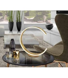 Acheter en ligne LAMPE TABLE ·OZONO· OR