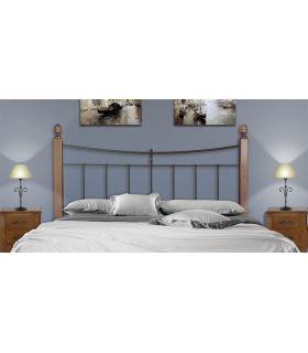 Acheter en ligne Têtes de lit avec des poutres en bois : Modèle LIBERTY