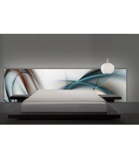 Acheter en ligne Têtes de lit rétroéclairés: modèle BOREAL.
