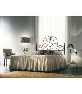 Acheter en ligne Têtes de lit en fer forgé: modèle DIANA.