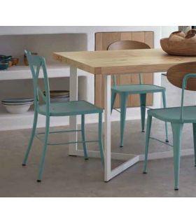 Acheter en ligne Chaise en fer forgé artisanal modèle MANILA