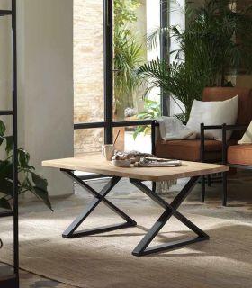 Acheter en ligne Table basse avec un dessus en bois modèle CORSE