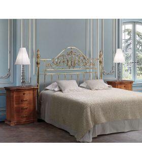 Acheter en ligne Tête de lit en laiton brillant modèle AMADEUS