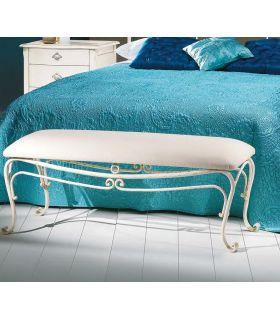 Acheter en ligne Banquette de lit en fer forgé modèle COPPELIA