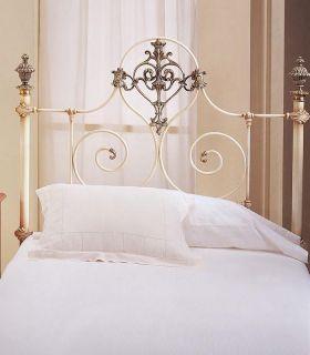 Acheter en ligne Têtes de lit en acier et fonte d'aluminium modèle LYON