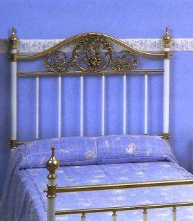 Acheter en ligne Tête de lit en laiton et fer forgé modèle DIJON