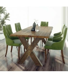 Acheter en ligne Table à manger de style industriel : Modèle KLOST
