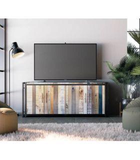 Acheter en ligne Table TV de style industriel Collection BLIT
