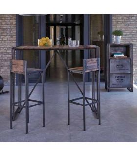 Acheter en ligne Tables de Bar de Style Industriel : Collection EDITO