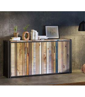 Acheter en ligne Enfilade de style industriel Collection BLIT