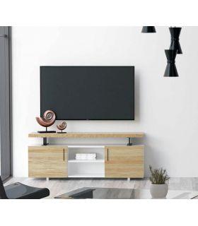 Acheter en ligne Table TV avec une structure en blanc collection CONT