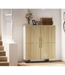 Acheter en ligne Meuble avec quatre portes en bois de pin Collection FULL