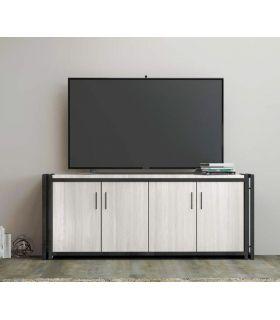 Acheter en ligne Table TV en fer et bois : Collection DANT