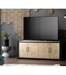 Acheter en ligne Meuble TV en bois et métal : Collection FANK