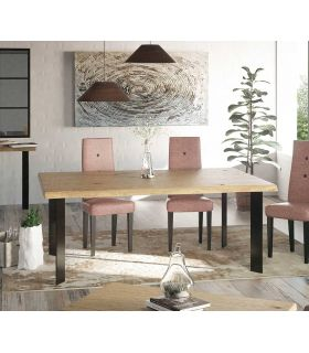 Acheter en ligne Table à manger de style industriel : Collection YANT