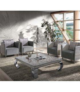 Acheter en ligne Table basse de style moderne : Modèle TERNI SHELL