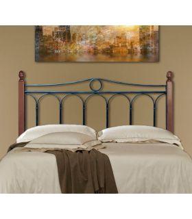 Acheter en ligne Têtes de lit avec barres en bois: modèle ROSE.