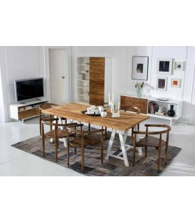 Acheter en ligne Tables à Manger en Bois : Collection FREDA