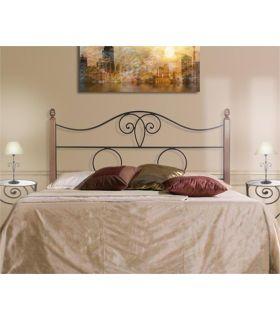 Acheter en ligne Têtes de lit avec barres en bois: modèle NAPOLES.