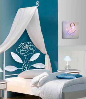 Acheter en ligne Têtes de lit pour enfants en fer forgé: modèle ÉDEN.